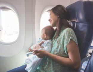 17 dicas para viajar de avião com o bebê