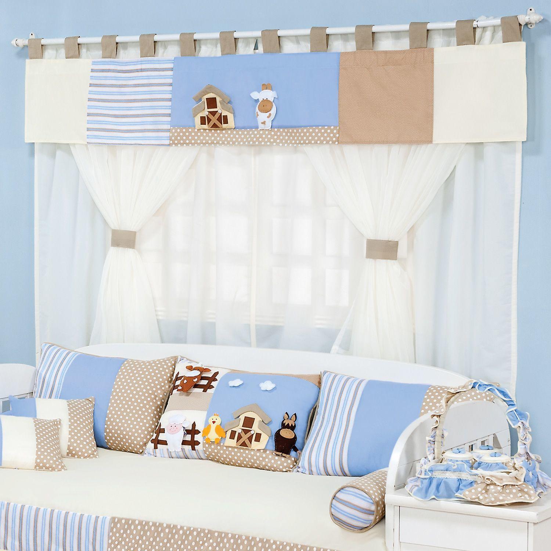 Quarto De Bebe Decorado Fazendinha ~ Quartos Fazendinha o enxoval perfeito para o quarto de beb?