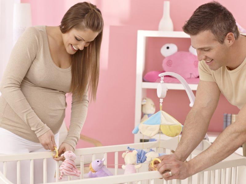 montar o quartinho de bebê