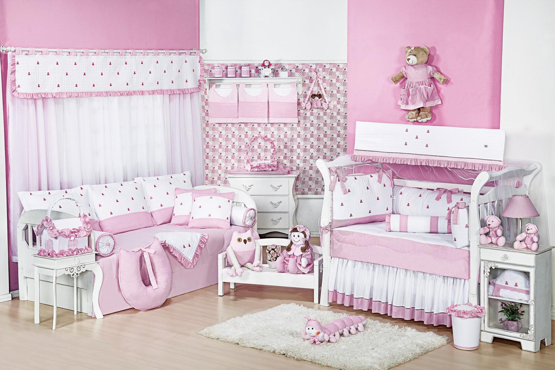 Enxoval De Beb Feminino Rosa Com Ursinhos Blog Gr O De Gente