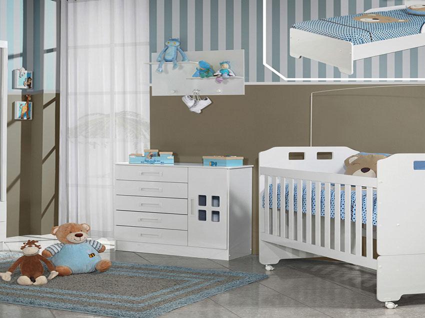 O quarto do bebê é pequeno? Dicas para não errar na decoração
