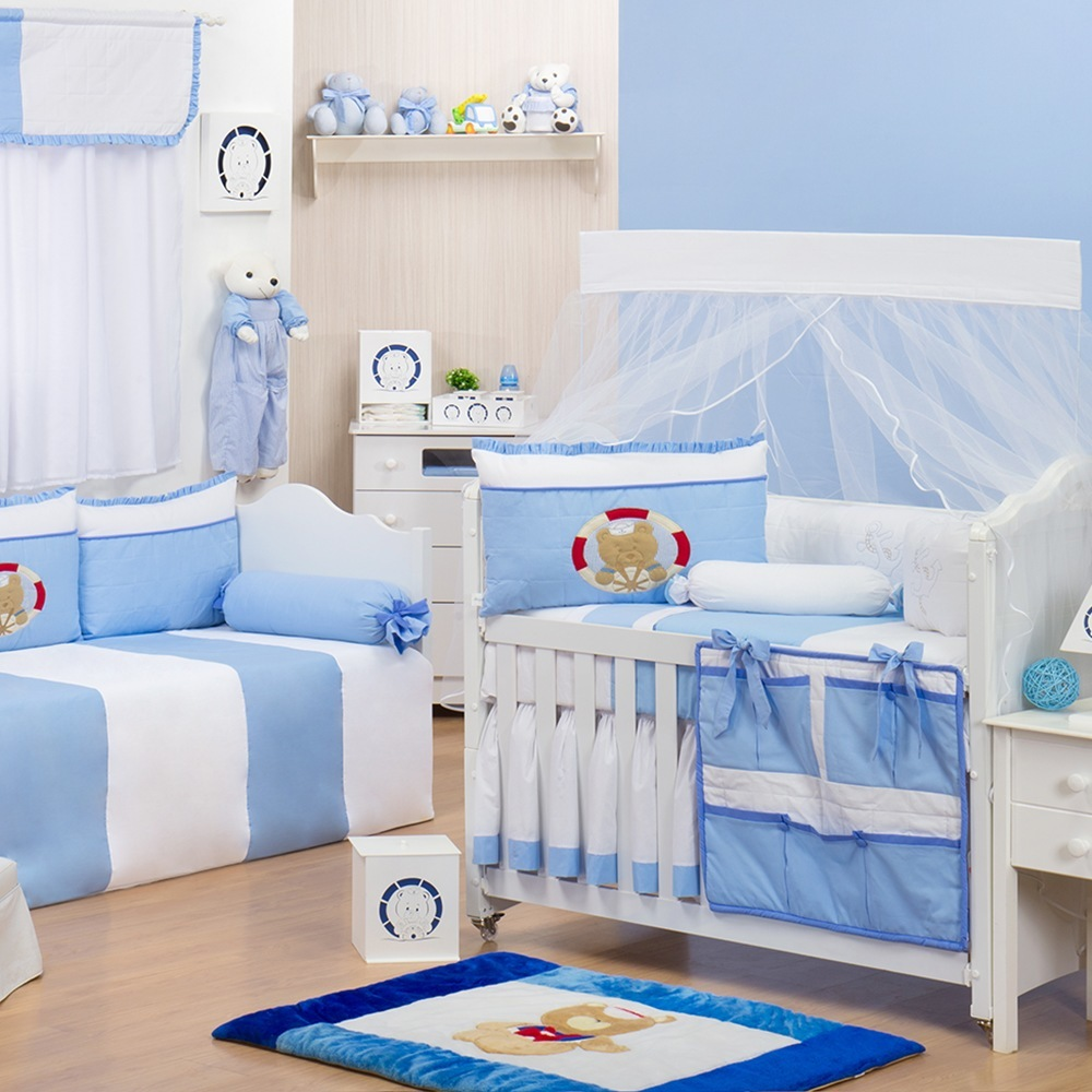 Tema Marinheiro Faz Sucesso Para Quarto De Meninos ~ Quarto Azul Marinho E Branco E Montar O Quarto Do Bebe