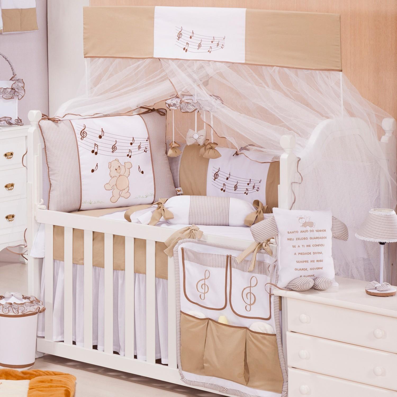 Quarto de bebê Ideias para decoração com cores neutras ~ Cores Neutras Quarto
