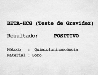 EXAME BETA HCG