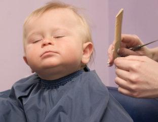 Cortar o Cabelo do Bebê