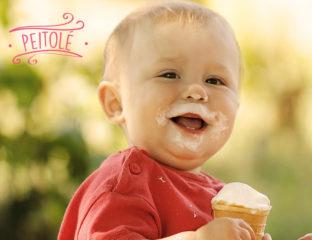 Sorvete de Leite Materno para bebês