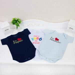 bodys de bebê com frases