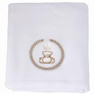 Cobertor para bebê Soft Royal Bege