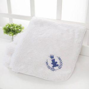 Cobertor de bebê Super Luxo Realeza