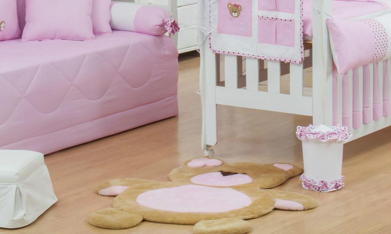 Tapetes para decoração de quartos de bebê