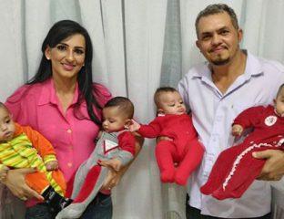 quadrigêmeos de Itumbiara