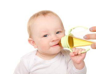 chá para bebê