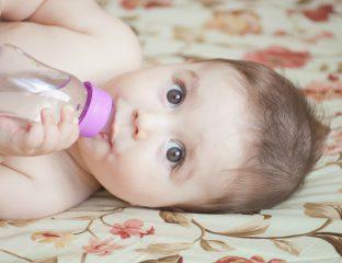 água para o bebê