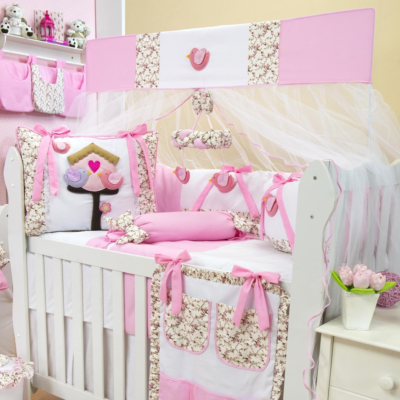 Passarinhos trazem alegria a decoração do quarto do bebê