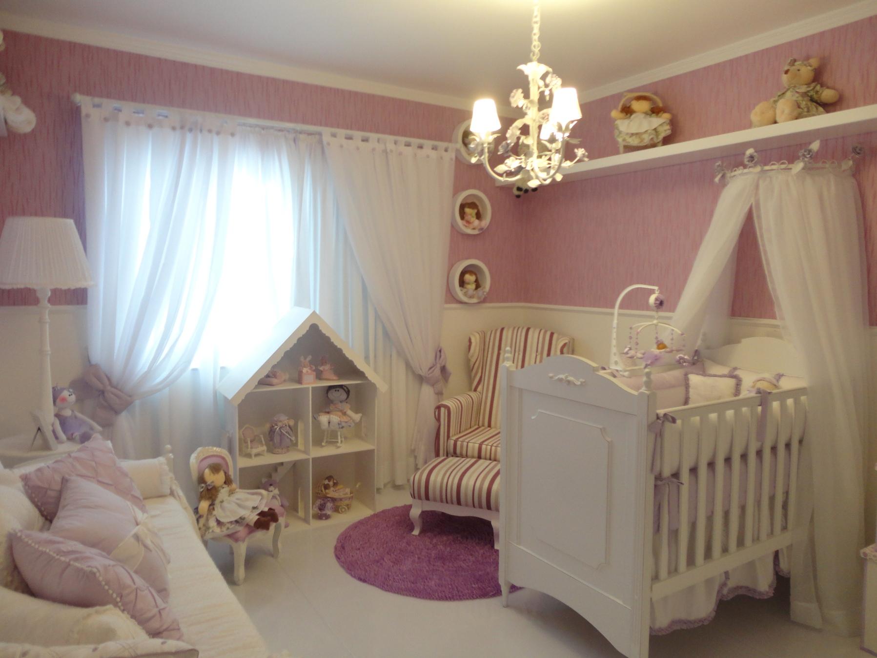 Passo A Passo Para Decorar O Quarto De Beb Dos Sonhos ~ Lustres Para Quarto Feminino E Quarto Infantil Meninos