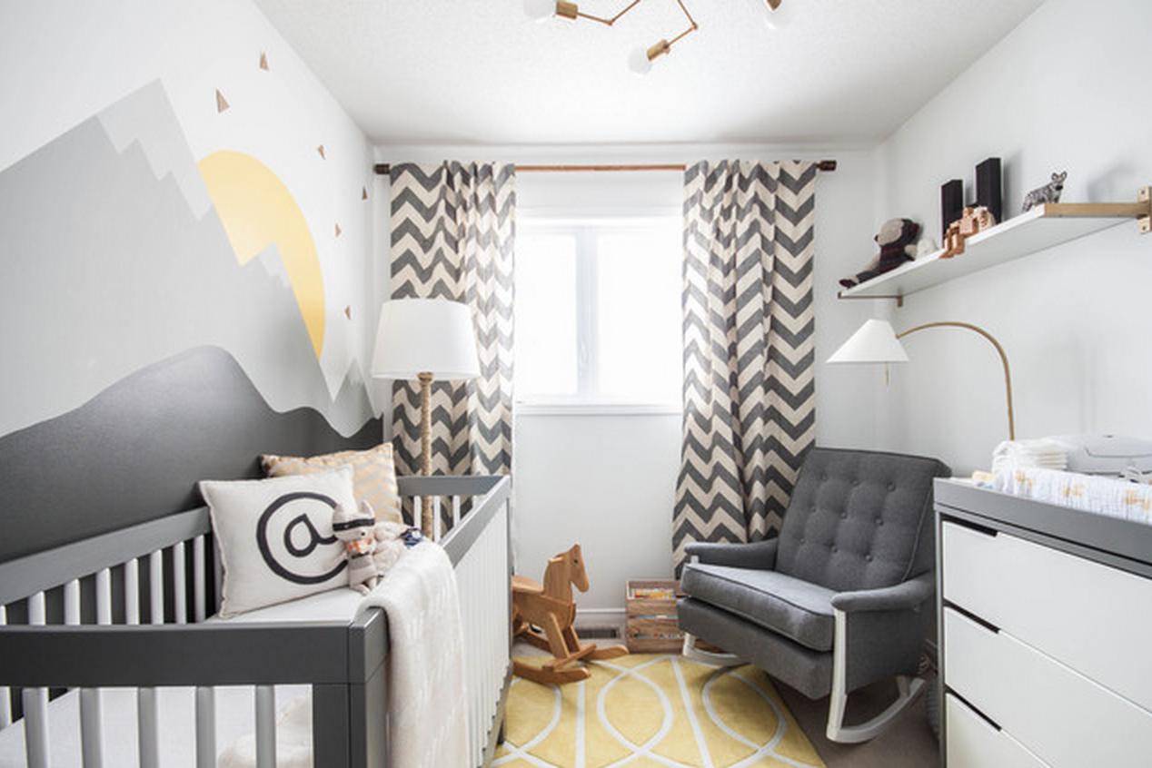 Passo a passo para decorar o quarto de bebê dos sonhos ~ Quarto Vintage Cinza