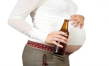 bebida alcoolica na gravidez