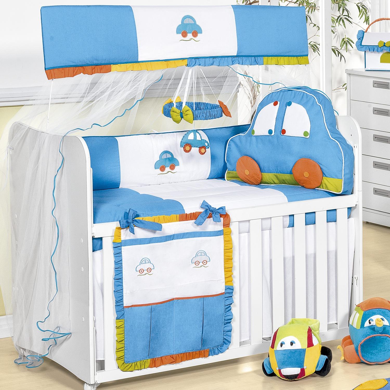 Inspira Es Para Decorar O Quarto De Beb De Cada Signo ~ Quarto De Bebe Azul E Marrom E Quarto Para Gemeos Casal