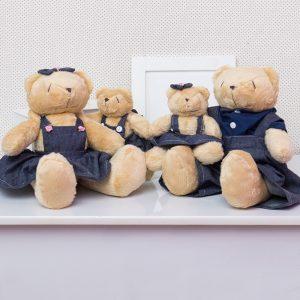 Família Urso Jardineiros