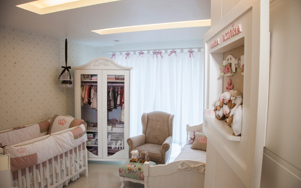 quarto de bebê da Maria Victoria, filha da Mulher Moranguinho e Naldo