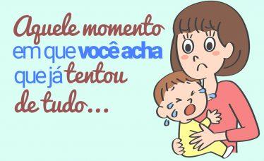10 motivos que fazem o bebê chorar
