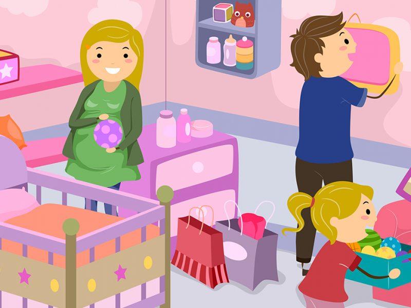 decoração do quarto de bebê