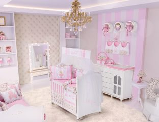 decorar o quarto de bebê ballerina