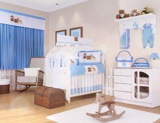 kit berço cowboy quarto de bebê country