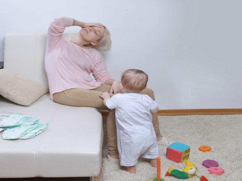 depressão pós-parto é uma doença perigosa