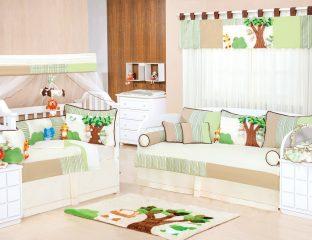 quarto de bebê lúdico unissex