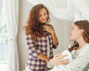 regras para visitar o recém-nascido