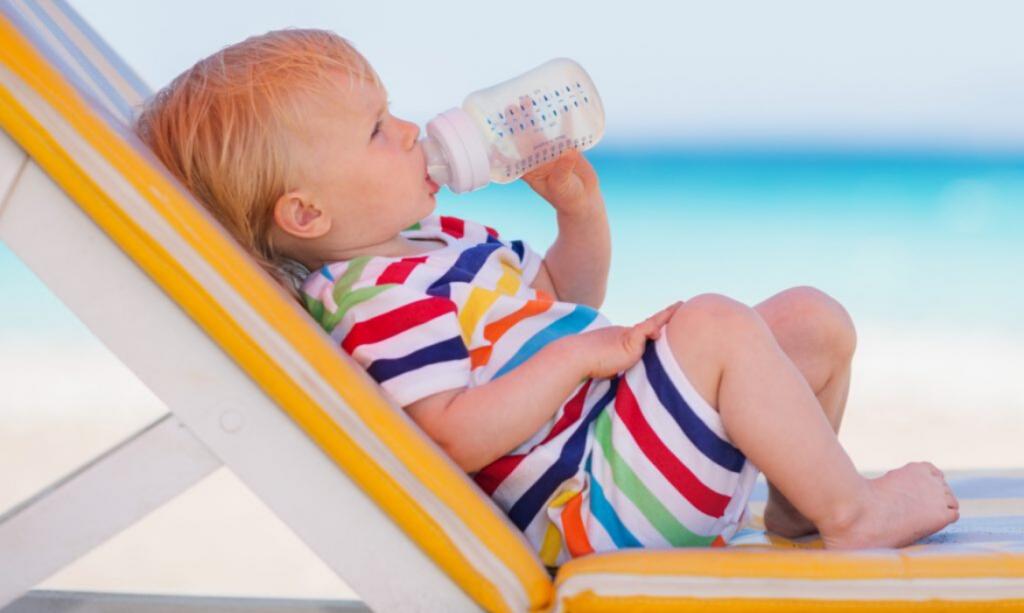 hidratação das crianças