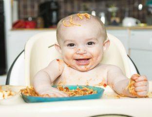 bebê introdução alimentar