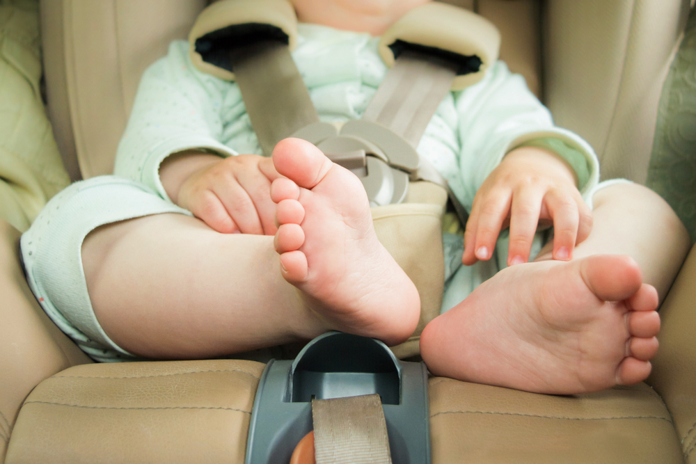 viajar com o bebê