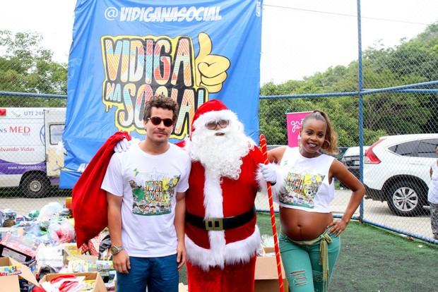 Grão de Gente apoia o evento Vidiga na Social - apadrinhado pelos artistas Roberta Rodrigues e Thiago Martins