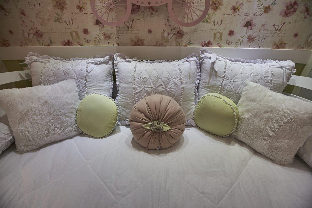 Detalhes do quarto da Linda Flor, filha da atriz Roberta Rodrigues