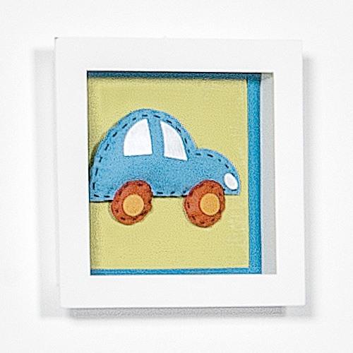 Nicho Quadrado Decorativo Fusca Ref: 59362