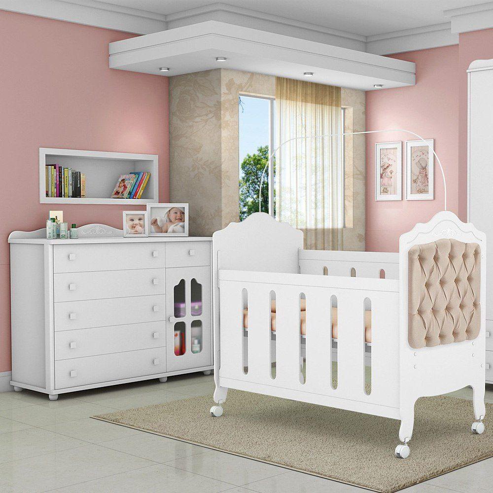 Quarto de beb completo praticidade e economia na compra - Provence mobiliario ...