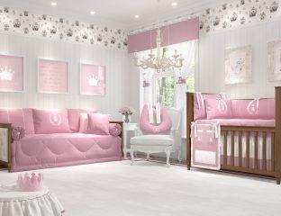 quarto realeza rosa premium