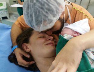 relato de parto normal da Raquel
