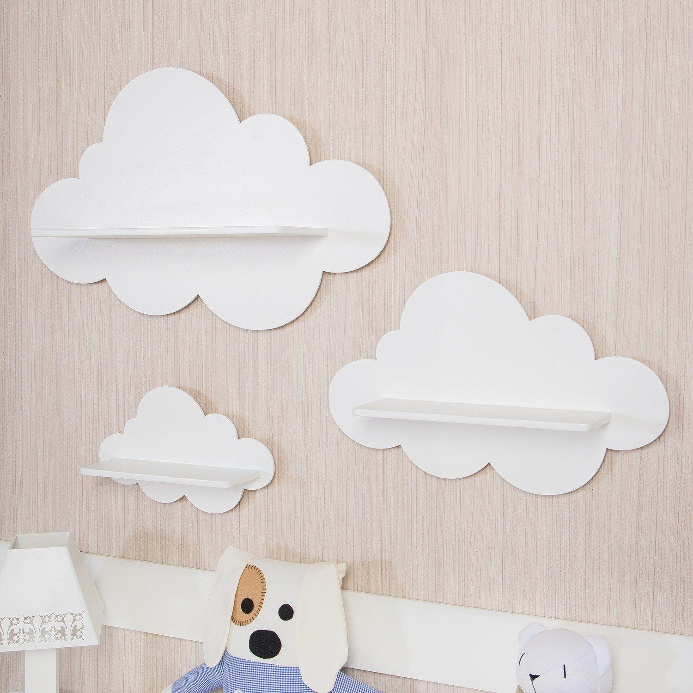 Prateleira Nuvem Deixa O Quarto De Beb Mais Bonito E Organizado ~ Enfeites Para Prateleiras De Quarto