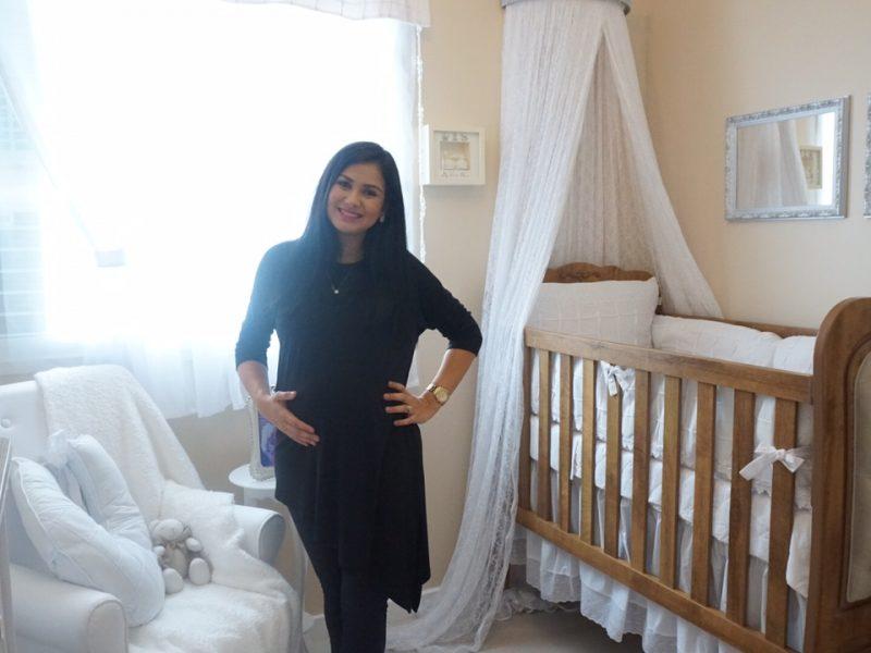 Bruna Olly mostra o quarto da filha Alice