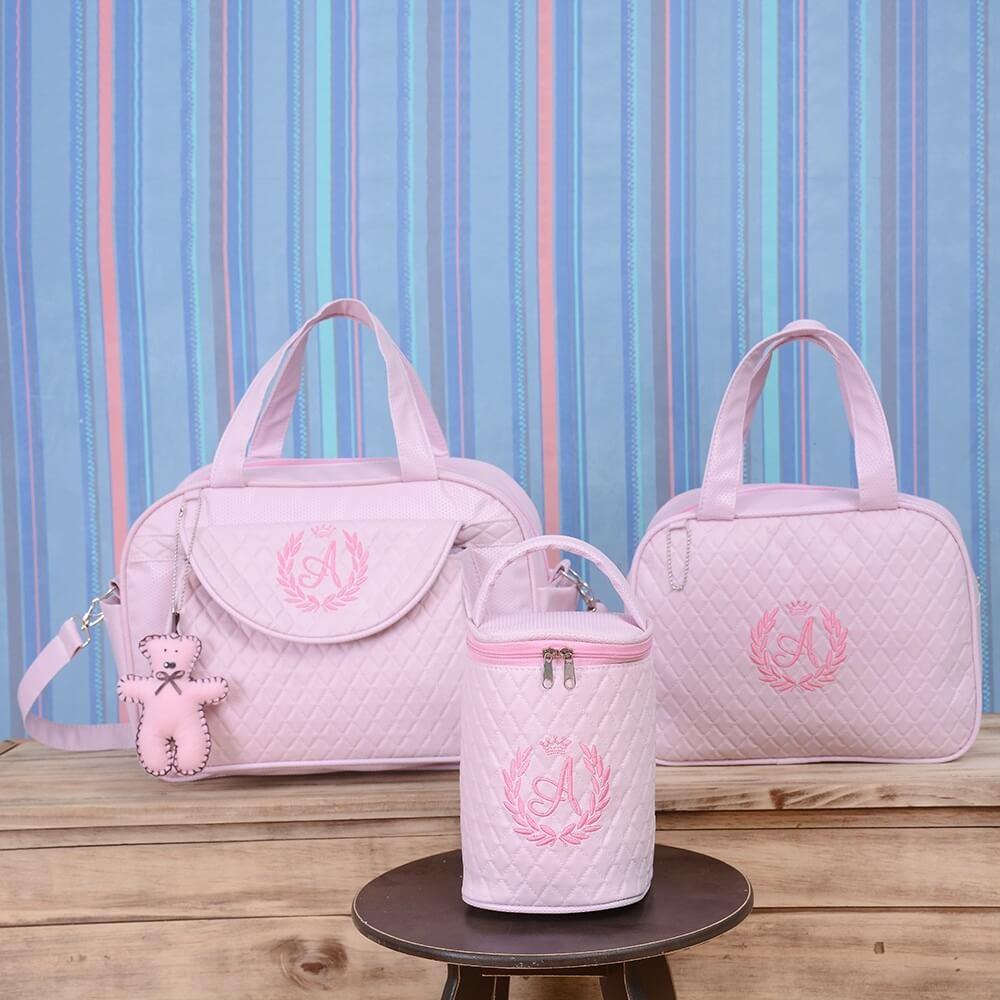67e4b3cfa conjunto-de-bolsas-maternidade-valencia-inicial-do-nome-personalizada -rosa-117905