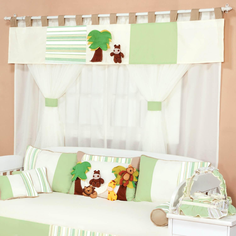 cortinas no quarto do bebê