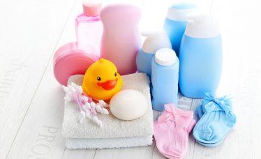 produtos de higiene para o bebê