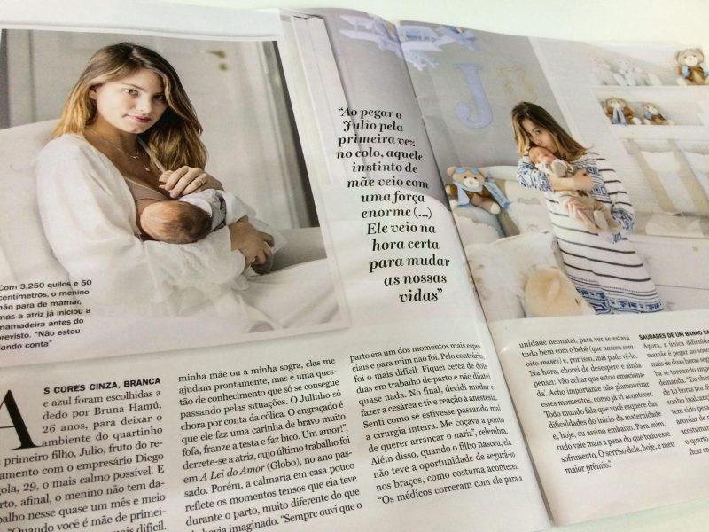 Bruna Hamú mostra quarto da Grão de Gente à Revista Contigo!