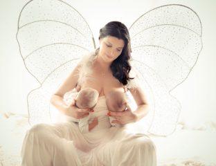 Ensaio fotográfico com lactantes para o projeto Amamentação Legal, da fotógrafa Lidi Lopez
