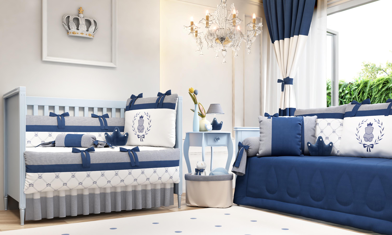 Cole O Ursinho Cl Ssico Marinho Um Sonho Azul E Branco Blog  ~ Quarto Azul Marinho E Branco E Montar O Quarto Do Bebe