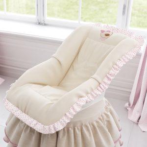 Capa para bebê conforto Nina Luxuosa