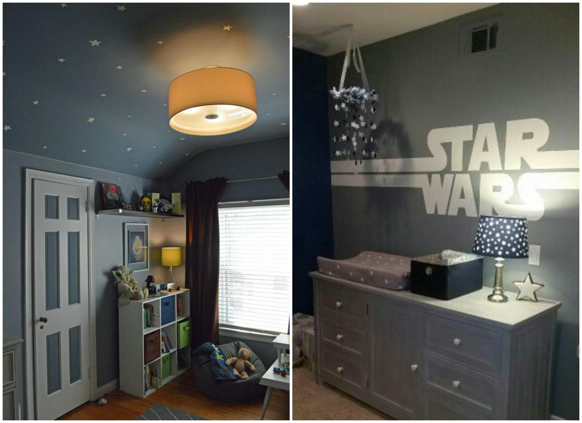 Inspiração Quarto do Star Wars